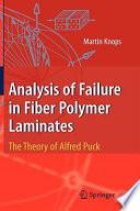 Analysis Of Failure In Fiber Polymer Laminates book