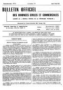 Bulletin officiel des annonces civiles et commerciales