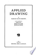 Applied Drawing   Pictorial  Decorative  Mechanical