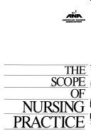 The Scope Of Nursing Practice