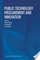 Public Technology Procurement and Innovation
