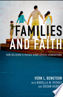 Families and Faith Book Cover