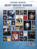2000 2005 Best Movie Songs  Easy Piano