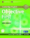 Objective First Klett Edition  Student s Book with Answers and CD ROM
