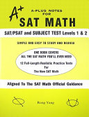 A Plus Notes for SAT Math