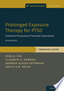 Prolonged Exposure Therapy for PTSD Book PDF