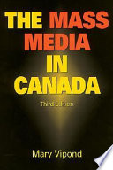 Ebook The Mass Media in Canada Epub Mary Vipond Apps Read Mobile