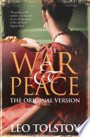 War and Peace  Original Version