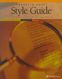 Franklin Covey Style Guide for Business and Technical Communication