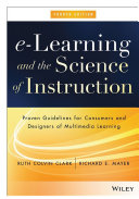 download ebook e-learning and the science of instruction pdf epub