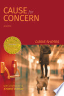 Cause for Concern  Able Muse Book Award for Poetry