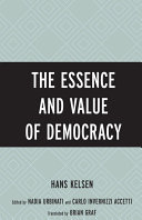 download ebook the essence and value of democracy pdf epub