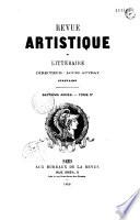 Revue artistique et litt  raire  Paris  1860