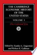 Read The Cambridge Economic History of the United States