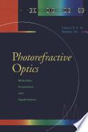 Photorefractive Optics
