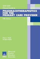 Clinical Guide to Pharmacotherapeutics for the Primary Care Provider