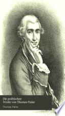 Die politischen Werke von Thomas Paine ...
