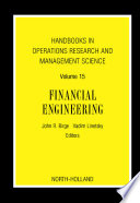Handbooks in Operations Research and Management Science  Financial Engineering