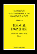download ebook handbooks in operations research and management science: financial engineering pdf epub