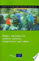 Higher Education for Modern Societies
