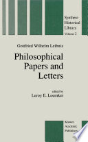 Philosophical Papers And Letters book