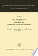 Untersuchungen zur Erstarrung und Speisung von Gußeisen