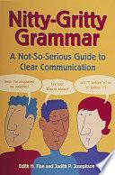 Nitty Gritty Grammar