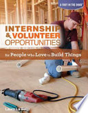 internship volunteer opportunities for people who love to build things
