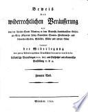 Geschichte des Baierisch-Landshutischen Erbfolge-Krieges nach dem Tode Herzog Georg des Reichen zu Baiern Landshut und Beweis der widerrechtlichen Veräußerung der von der Reichs-Stadt Nürnberg damals okkupirten Pfalz-Baierischen Stamm-, Fideikomiss- und Lehensherrschaften, Städte, Schlösser, Klöster und andern Güter sammt der Widerlegung der zwey Nürnbergischen Druckschriften unter den Titeln: Urkundliche Bemerkungen ... in 8. und Geschichts- und aktenmäßige Darstellung in 4