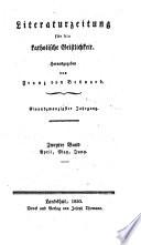 Literaturzeitung für die katholische Geistlichkeit