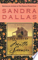 The Diary of Mattie Spenser Book PDF