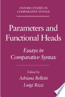 Parameters and Functional Heads   Essays in Comparative Syntax