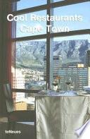 illustration du livre Cool Restaurants Cape Town