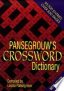 Pansegrouw's Crossword Dictionary