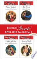 Harlequin Presents April 2016   Box Set 2 of 2