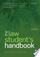 the law student s handbook