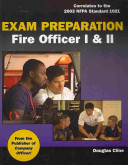 Exam Preparation for Fire Officer I and II  Book Only