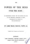 The Power of the Mind Over the Body