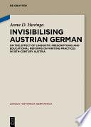 Invisibilising Austrian German
