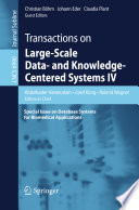 Transactions On Large Scale Data And Knowledge Centered Systems Iv