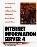 Internet Information Server 4 book