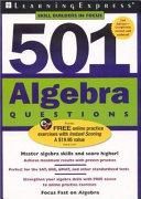 501 Algebra Questions