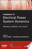 Handbook of Electrical Power System Dynamics
