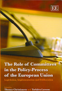 The Role Of Committees In The Policy Process Of The European Union