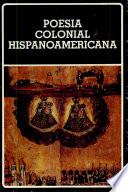Poesía colonial hispanoamericana
