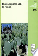 Cactus (Opuntia Spp.) as Forage In Agricultural Systems In Arid And Semi Arid