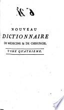 illustration Nouveau dictionnaire universel et raisoné de médecine, de chirurgie, et de l'art vétérinaire...