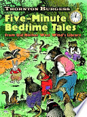 Thornton Burgess Five Minute Bedtime Tales