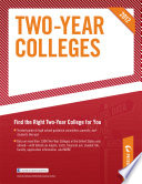Two Year Colleges 2012
