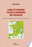 Lire et   crire pour s ins  rer en France